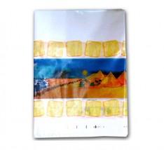 Toalha de Mesa Plástica - Festa Pessach (Importado)
