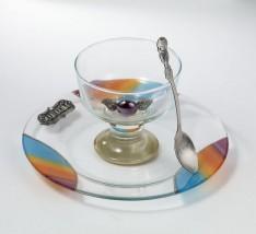 Taça de Vidro para Charosset (Importado)