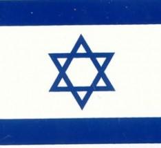 Bandeira de Israel 150 x 90 cm