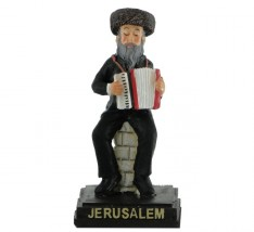Miniatura - judeu com acordeon