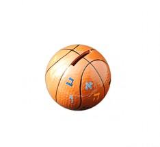 Caixa para Tsedaka - Bola Basquete