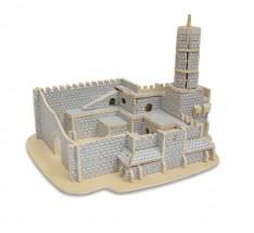 Quebra  Cabeça 3D - Cidadela (Torre) de Davi