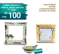 Combo Pessach 2 + Porta Jóias Grátis