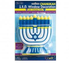 Chanukiah com L.E.D