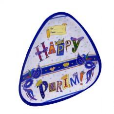 Bandeja Triangular de Melamina - Para a Festa de Purim