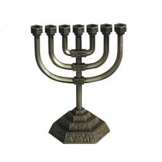 Menorah Tradicional - Bronze