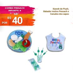 Combo Pessach Infantil 4